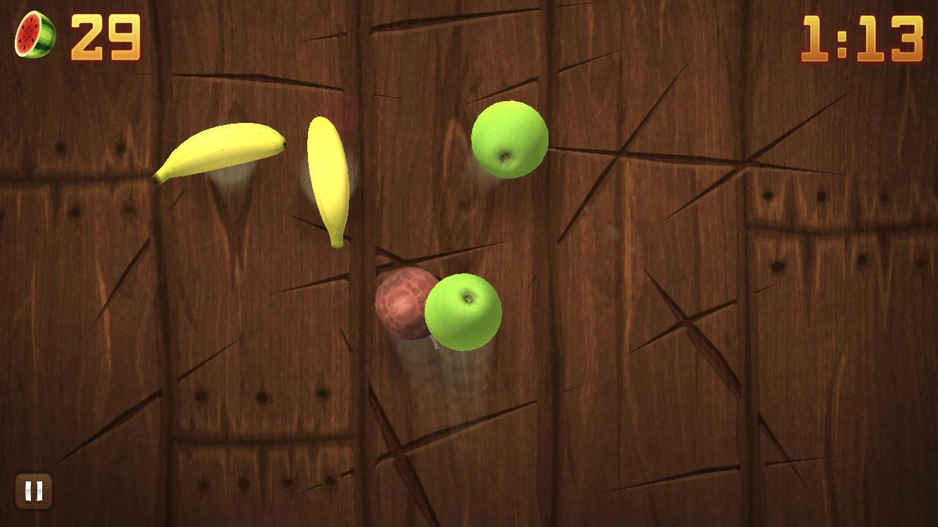 Fruit Ninja iPhone (Android, iOS)